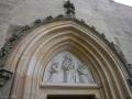 Vstup do kostela Panny Marie Na Náměti